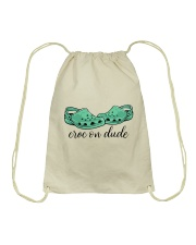Croc On Dude Drawstring Bag thumbnail