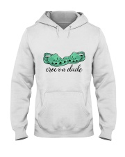 Croc On Dude Hooded Sweatshirt thumbnail