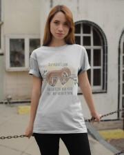 The Caffeine Will Kick Classic T-Shirt apparel-classic-tshirt-lifestyle-19