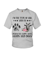 Goats And Dogs Youth T-Shirt thumbnail