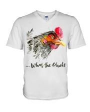 What The Cluck V-Neck T-Shirt thumbnail