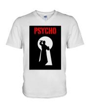 Psycho V-Neck T-Shirt thumbnail