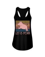 Let's Pork Ladies Flowy Tank thumbnail