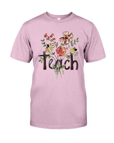 Teach Peace Flowers