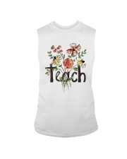 Teach Peace Flowers Sleeveless Tee tile