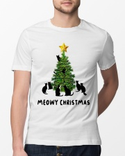 Meowy Christmas Classic T-Shirt lifestyle-mens-crewneck-front-13