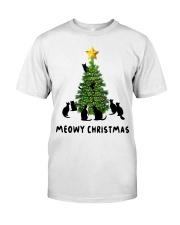 Meowy Christmas Premium Fit Mens Tee thumbnail