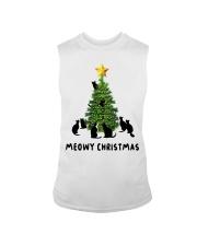Meowy Christmas Sleeveless Tee thumbnail