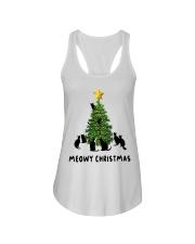 Meowy Christmas Ladies Flowy Tank thumbnail