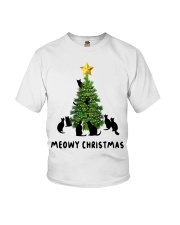 Meowy Christmas Youth T-Shirt thumbnail
