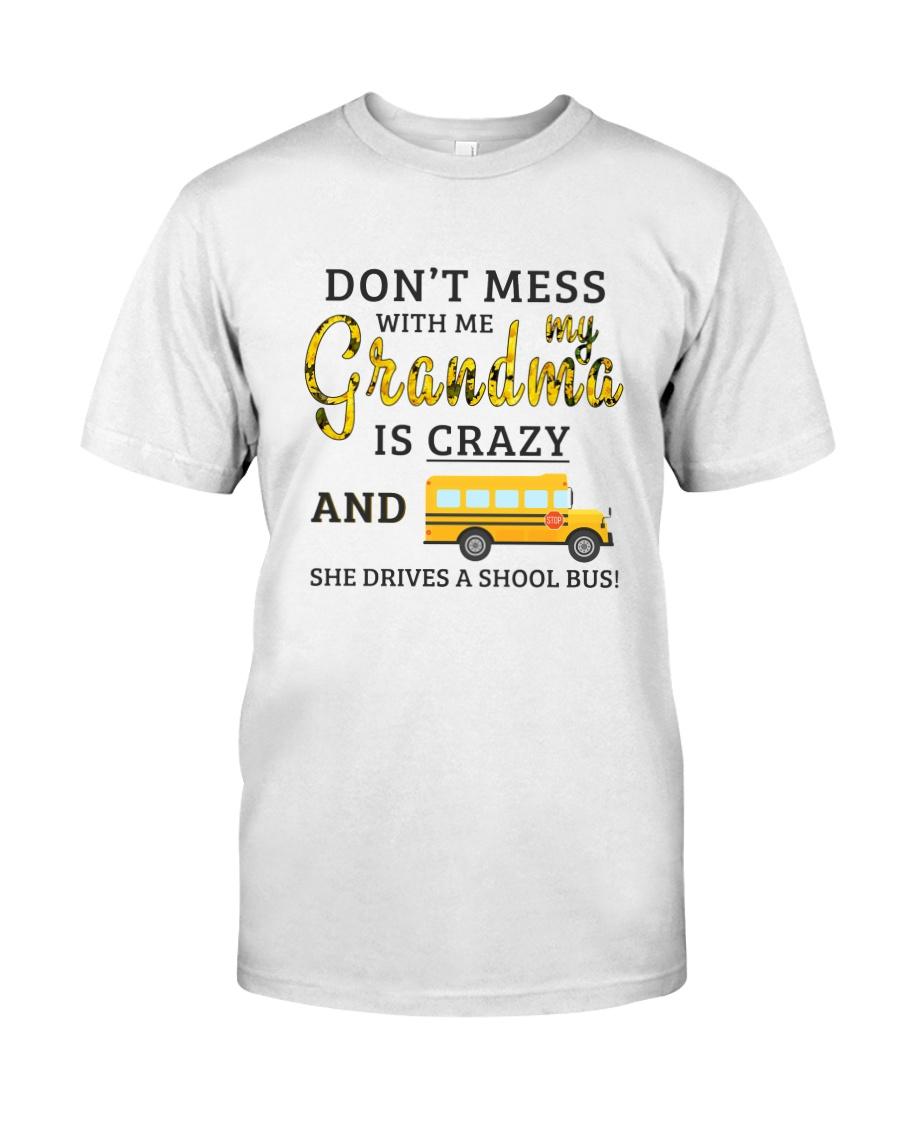 She Drives A School Bus Classic T-Shirt
