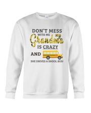 She Drives A School Bus Crewneck Sweatshirt thumbnail