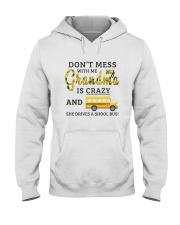She Drives A School Bus Hooded Sweatshirt thumbnail