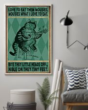 Love To Eat Them Mousies 11x17 Poster lifestyle-poster-1