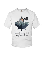 Home Is Where The Heart Is Youth T-Shirt thumbnail