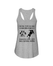 Dogs And Base Jumping Ladies Flowy Tank thumbnail