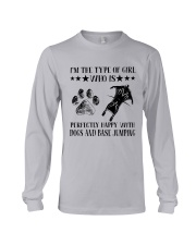 Dogs And Base Jumping Long Sleeve Tee thumbnail