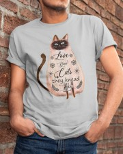Your Cats Knead You Classic T-Shirt apparel-classic-tshirt-lifestyle-26