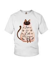 Your Cats Knead You Youth T-Shirt thumbnail