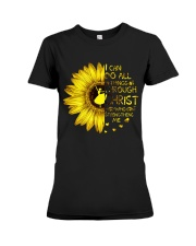 I Can Do All Things Premium Fit Ladies Tee thumbnail