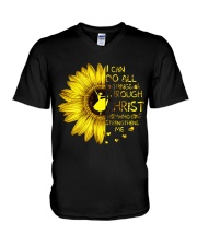 I Can Do All Things V-Neck T-Shirt thumbnail