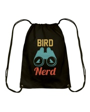 Bird Nerd Drawstring Bag thumbnail
