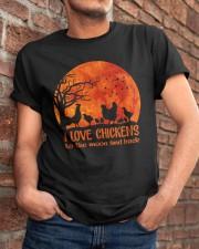 I Love Chickens Classic T-Shirt apparel-classic-tshirt-lifestyle-26