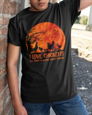 I Love Chickens Classic T-Shirt apparel-classic-tshirt-lifestyle-27