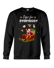 Dogs For Everybody Crewneck Sweatshirt thumbnail