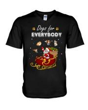 Dogs For Everybody V-Neck T-Shirt thumbnail