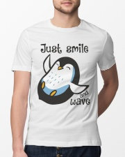 Just Smile And Wave Classic T-Shirt lifestyle-mens-crewneck-front-13