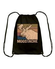 Moostache Funny Drawstring Bag thumbnail