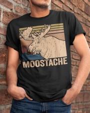 Moostache Funny Classic T-Shirt apparel-classic-tshirt-lifestyle-26