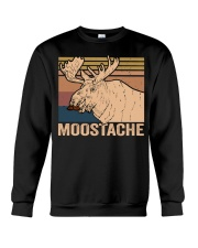 Moostache Funny Crewneck Sweatshirt thumbnail