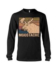 Moostache Funny Long Sleeve Tee thumbnail