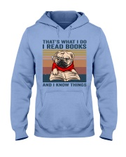 I Read Books Hooded Sweatshirt front