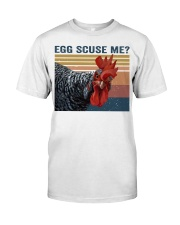 Egg Scuse Me Premium Fit Mens Tee thumbnail