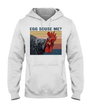 Egg Scuse Me Hooded Sweatshirt thumbnail