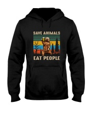 Save Animals Hooded Sweatshirt front