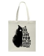 Love You More Than Tote Bag thumbnail