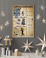Climbing Knowledge 11x17 Poster lifestyle-holiday-poster-1