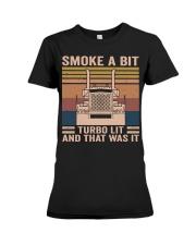 Smoke A Bit Premium Fit Ladies Tee thumbnail