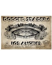 Dodger Stadium Los Angeles 17x11 Poster front