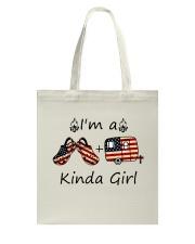 I'm A Kinda Girl Tote Bag thumbnail