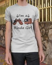I'm A Kinda Girl Classic T-Shirt apparel-classic-tshirt-lifestyle-21
