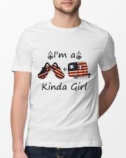I'm A Kinda Girl Classic T-Shirt lifestyle-mens-crewneck-front-13