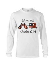 I'm A Kinda Girl Long Sleeve Tee thumbnail