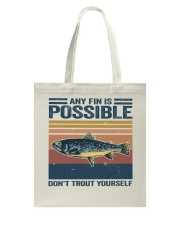 Don't Trout Yourself Tote Bag thumbnail