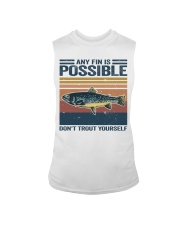 Don't Trout Yourself Sleeveless Tee thumbnail