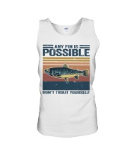 Don't Trout Yourself Unisex Tank thumbnail